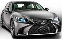 Lexus LS. Imágenes exteriores.