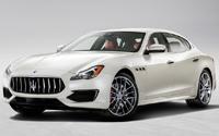 Maserati Quattroporte. Imágenes exteriores.