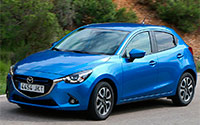 Mazda2. Imágenes exteriores.