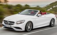 Mercedes-Benz Clase S Cabrio. Imágenes exteriores.