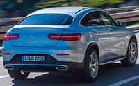 Mercedes-Benz GLC Coupé. Imágenes exteriores.