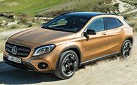 Mercedes-Benz GLA. Imágenes exteriores e interiores.
