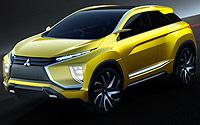 Mitsubishi eX Concept. Imágenes