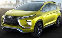 Mitsubishi XM Concept. Imágenes exteriores.