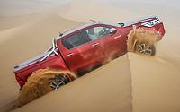 Namibia en un Toyota Hilux. Imágenes exteriores.