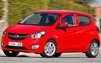 Opel KARL. Imágenes exteriores.