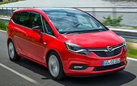 Opel Zafira. Imágenes exteriores.