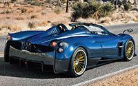Pagani Huayra Roadster. Imágenes exteriores e interiores.