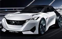 Peugeot Fractal. Imágenes