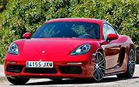Porsche 718 Cayman. Imágenes exteriores.