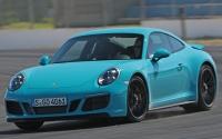Porsche 911 GTS 2017. Imágenes exteriores e interiores.