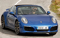 Porsche 911 Targa 4S. Imágenes exteriores.