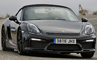Porsche Boxster Spyder. Imágenes