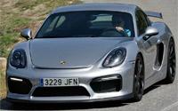 Porsche Cayman GT4. Imágenes