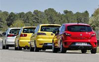 Reportaje: SEAT Ibiza CUPRA 20º aniversario. Imágenes.