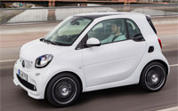 smart BRABUS fortwo. Imágenes exteriores.