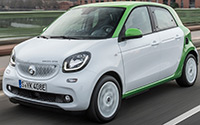 smart forfour electric drive. Imágenes exteriores.