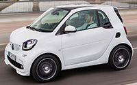 smart fortwo BRABUS. Imágenes exteriores.