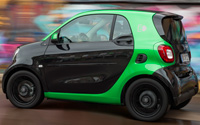 smart fortwo electric drive. Imágenes exteriores.