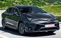 Toyota Avensis. Imágenes.