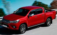Toyota Hilux. Imágenes exteriores.
