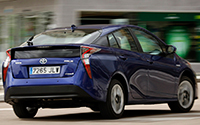 Toyota Prius. Imágenes exteriores.