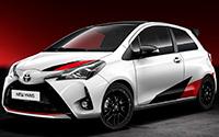 Toyota Yaris Sport. Imágenes exteriores.