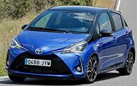 Toyota Yaris. Imágenes exteriores e interiores.