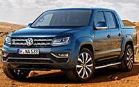 Volkswagen Amarok. Imágenes exteriores y técnicas.