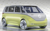 Volkswagen I.D. BUZZ prototipo. Imágenes exteriores e interiores.