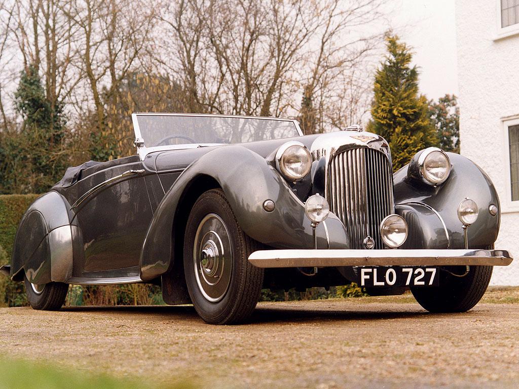 el Lagonda Rapide de 1939