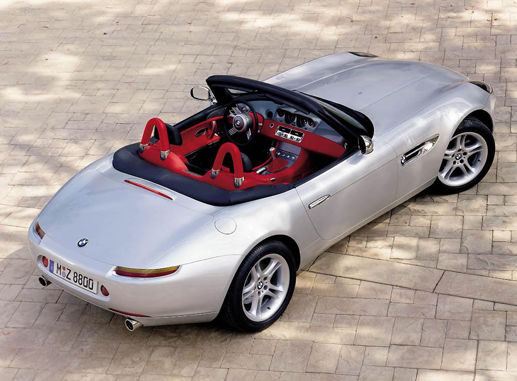 km77.com. BMW Z8. Imágenes de exterior (