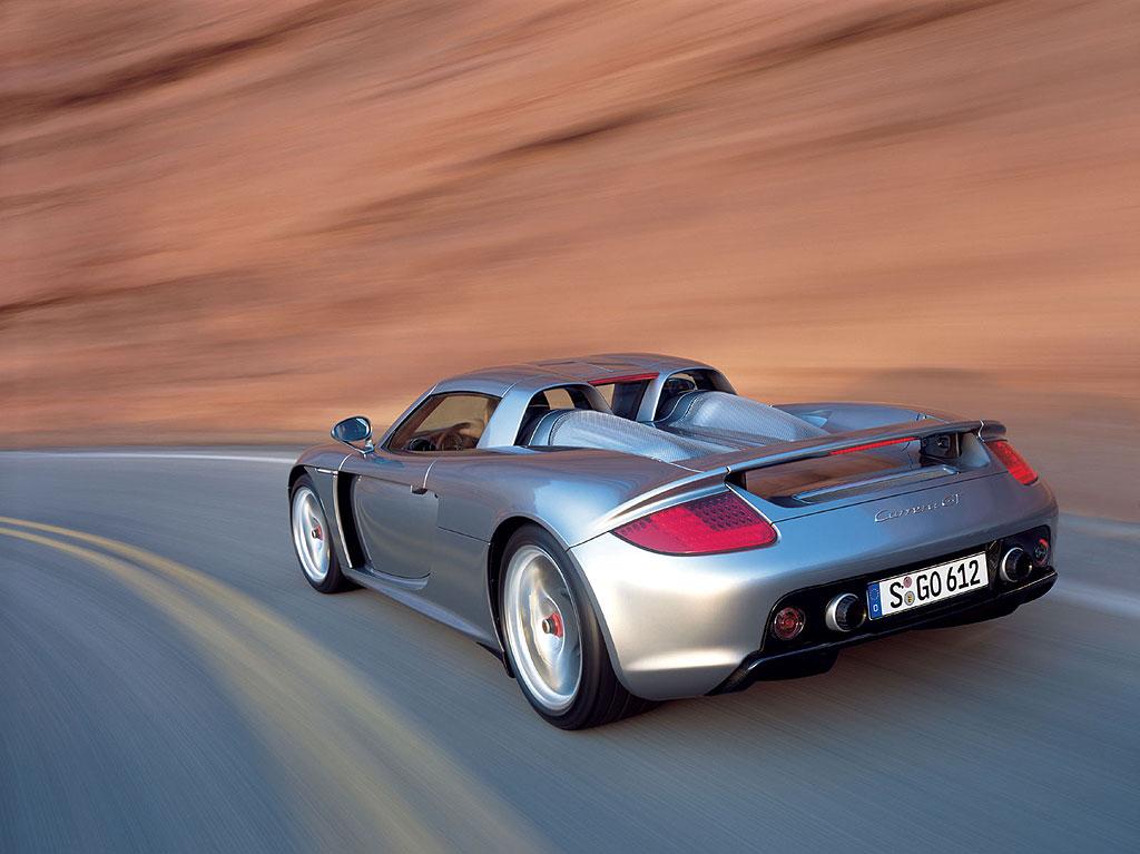 Статьи о Porsche Carrera GT.